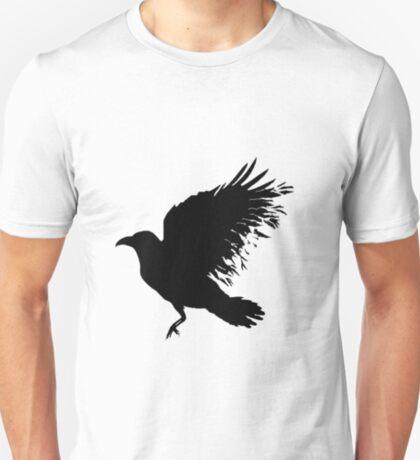 Crow - flying crow T-Shirt