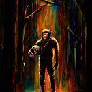 Commander Chimp by nicebleed