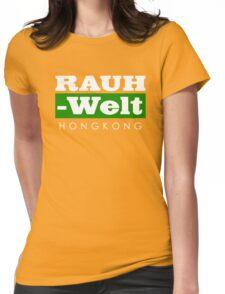 RAUH-WELT BEGRIFF : hongkong Womens Fitted T-Shirt