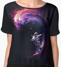 Space Surfing II Chiffon Top