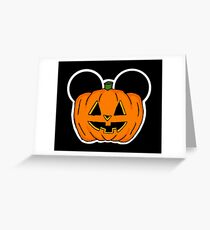 Halloween Ears Greeting Card
