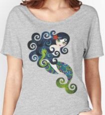 Aquamarine Mermaid Women's Relaxed Fit T-Shirt