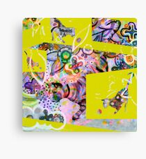 playing cat Canvas Print
