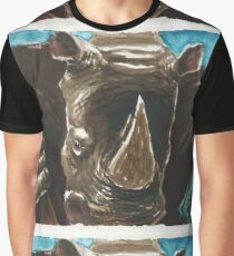 Rhino Warrior Graphic T-Shirt