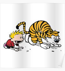 Calvin And Hobbes : Get Set, Ready, Go ... Poster