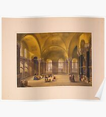 Ayasofya Mosque, formerly the Church of Hagia Sophia n Constantinople Poster
