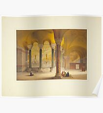 Ayasofya Mosque, formerly the Church of Hagia Sophia n Constantinople (Istanbul) 12 Poster