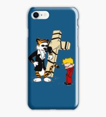 Calvin And Hobbes : Detective iPhone Case/Skin