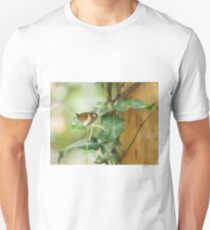 Butterfly on a Leaf T-Shirt