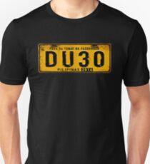 DUTERTE plate number (rustic) T-Shirt