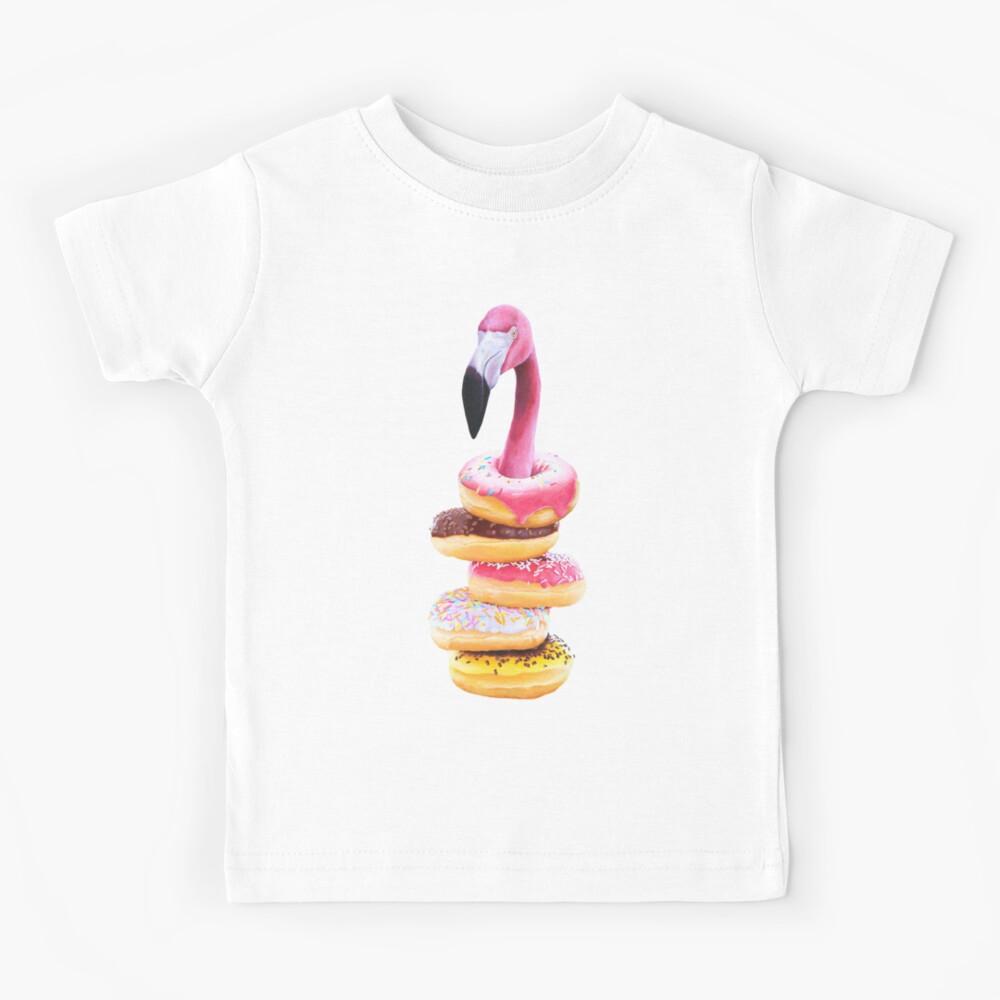 A Famished Flamingo Kids T-Shirt