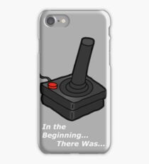 In The Beginning There Was Atari iPhone Case/Skin