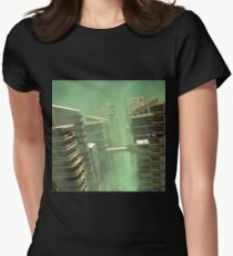 3D Illustration Futuristic City T-Shirt