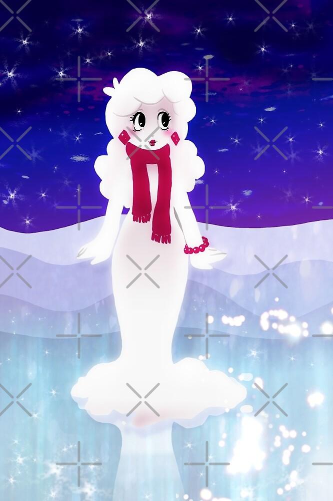 Snow woman by SaradaBoru