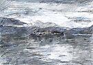 Island of Silence, Lago d'Orta by John Douglas