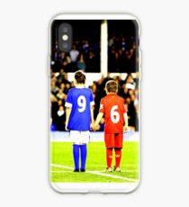 Hillsborough 96 Liverpool Everton together  #jft96 (T-shirt, Phone Case & more) iPhone Case
