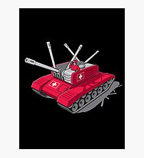 Army Tank Photographic Print