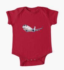 Cartoon Airliner Boeing 737 One Piece - Short Sleeve