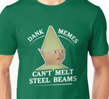 Dank Memes Can't Melt Steel Beams T-Shirt Unisex T-Shirt