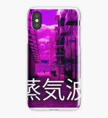 Purple Vaporwave iPhone Case/Skin