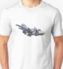 Cartoon Jetbird Unisex T-Shirt