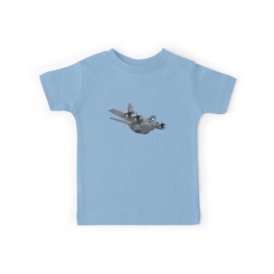Cartoon Military Cargo Plane by Mechanick