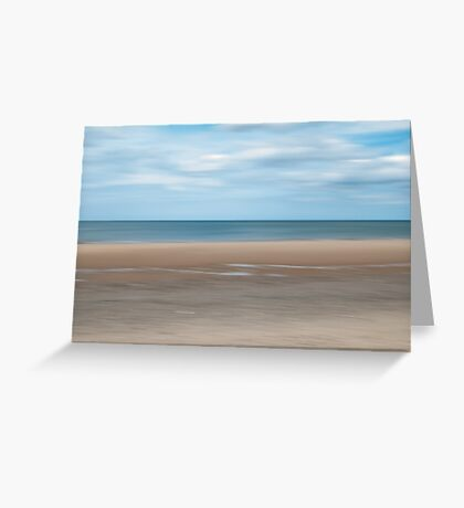 Big Skies and Beautiful Beaches 2 - Brancaster, Norfolk Greeting Card
