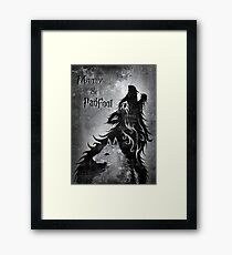 Moony & Padfoot Framed Print