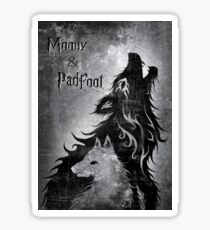 Moony & Padfoot Sticker