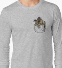 Pocket Deathclaw Long Sleeve T-Shirt