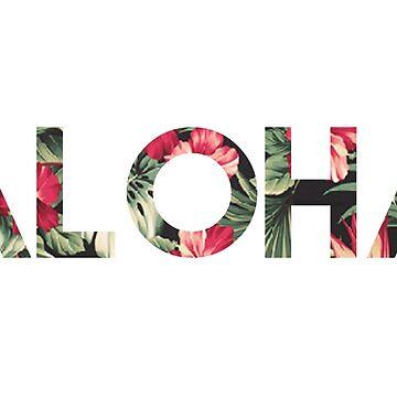 Floral Aloha by daburrows