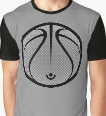 Vector Basketball Graphic T-Shirt