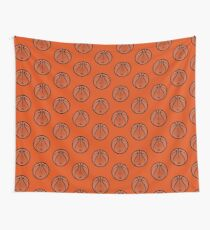 Vector Basketball Wall Tapestry