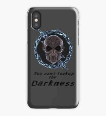 You cant lock up the darkness - zoom iPhone Case/Skin