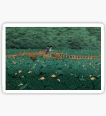 Shiba Benten ike - Hasui Kawase Sticker