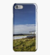 Mull of Galloway Lighthouse and Walled Garden Photograph Dumfries and Galloway iPhone Case/Skin