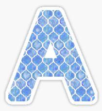 A Monogram Sticker