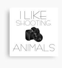 Photography Humour Nature Animals Wildlife Funny Canvas Print