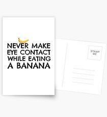 Funny Humour Dick Joke Banana Sex Postkarten