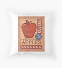 Fresh Apples Throw Pillow