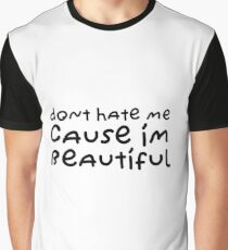 Funny Cute Sweet Cool Quote Beautiful Love Graphic T-Shirt