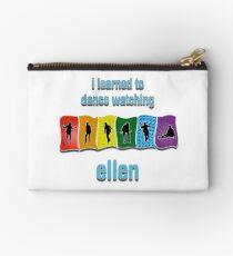 I Learned to Dance by Watching Ellen Zipper Pouch