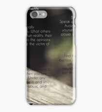 The Four Agreements  iPhone Case/Skin