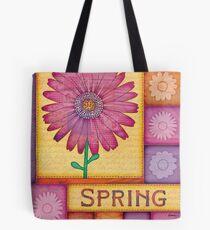 Spring Daisies Tote Bag