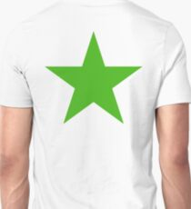 GREEN, STAR, Environment, Environmentalist, Ecology, Eco, Nature, Green, T-Shirt