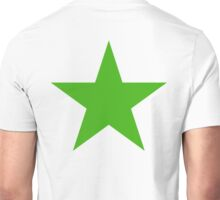 GREEN, STAR, Environment, Environmentalist, Ecology, Eco, Nature, Green, Unisex T-Shirt