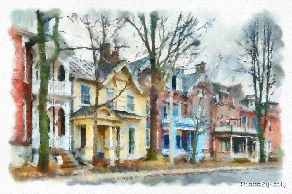 Sydenham Street - Watercolour by PhotosByHealy