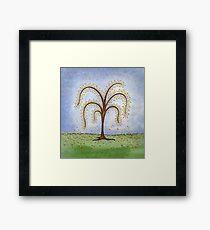 Whimsical Willow Tree Framed Print