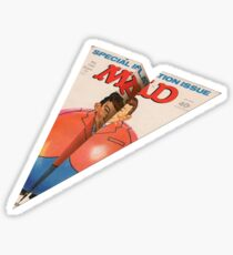 MAD Paper Airplane 145 Pattern Sticker