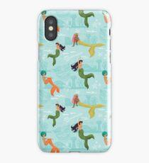 Coney Island Mermaid Pattern iPhone Case/Skin
